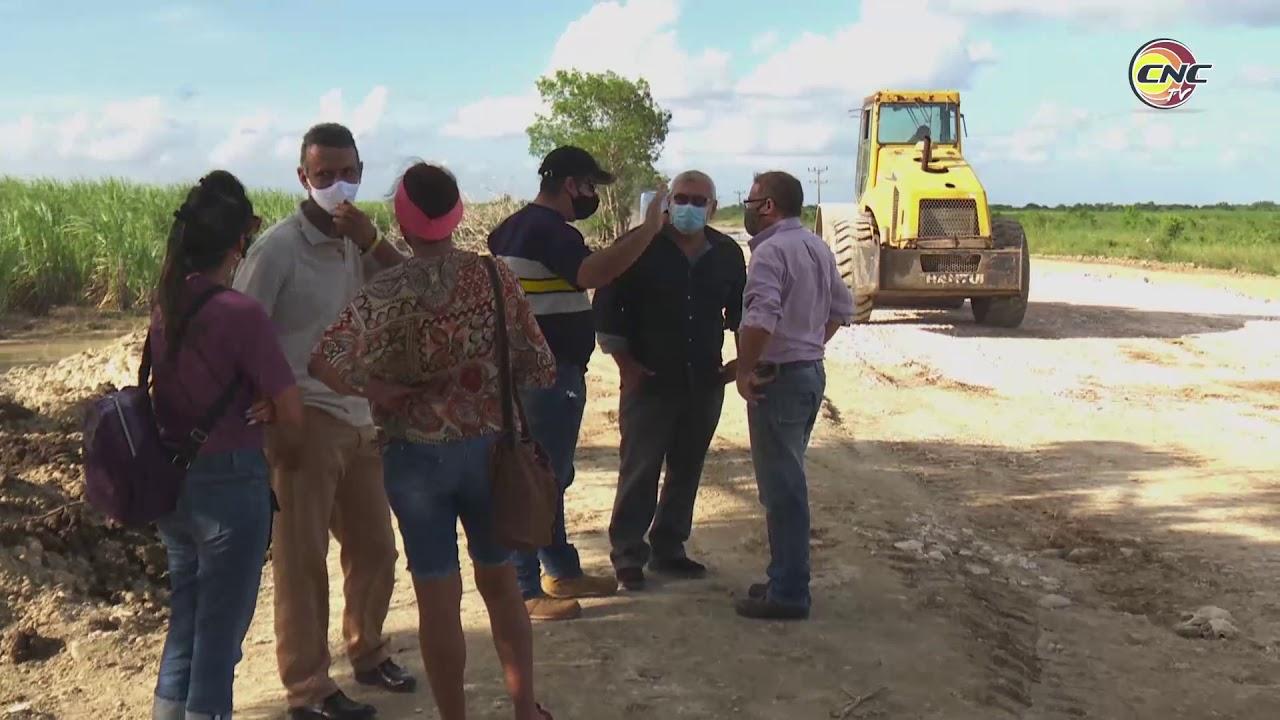 Evalúa viceministro de la Construcción afectaciones ocasionados por Eta a los viales en Granma