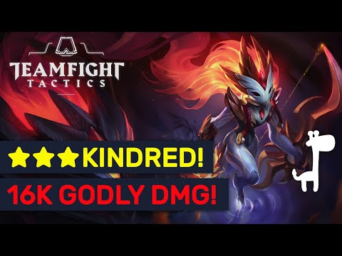 16000+ DMG ★★★ KINDRED!! Epic Golden 4 Shadows Team! | TFT | Teamfight Tactics