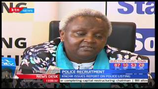 KNCHR issues report on police listing