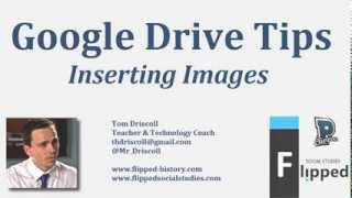 Google Drive Tips: Inserting Images