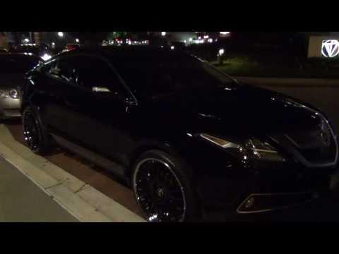 Acura ZDX With Forgiato Rims In Baltimore