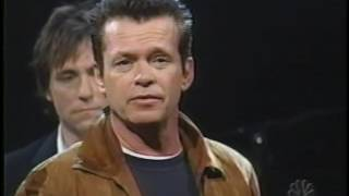 "John Mellencamp - ""Stones In My Passway"" and ""Down In The Bottom"" - Live on Late Night TV 2003"