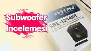 Alpine SBE-1244BR / Subwoofer İncelemesi / Bass