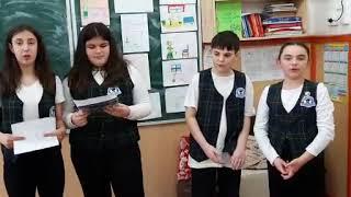 """O mână de ajutor salvează lumea! (2), Școala Gimnazială """"Mihai Viteazul"""", Pucioasa"""