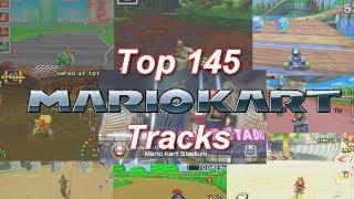 Top 145 Mario Kart Tracks