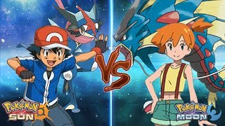 Download Youtube: Pokemon Sun and Moon: Kalos Ash Vs Misty (Z-Moves Vs Mega-Evolution)