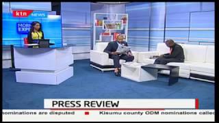 Kalonzo Musyoka pushes Raila Odinga for the NASA ticket
