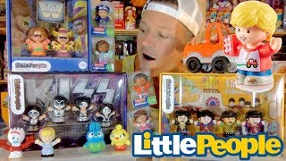 Fisher Price Little People Collector: The Beatles, KISS & WWE