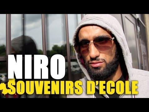 """Video Niro - Ses souvenirs d'école (Episode 5) : """"En Français, je faisais des bêtes de rédaction""""..."""