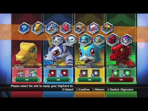 Digimon All-Star Rumble All Characters [PS3]