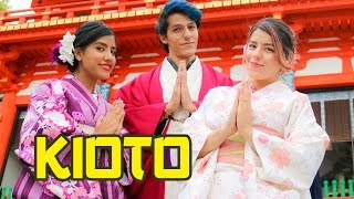 WE BECOME JAPANESE FOR A DAY IN KIOTO | LOS POLINESIOS VLOGS