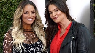 Lita and Trish Stratus WWE 20th Anniversary Celebration Event Blue Carpet