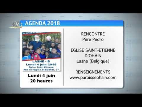 Agenda du 1er juin 2018