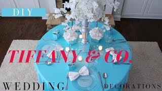 Tiffany & Co Party Decoration Ideas | DIY Tiffany & Co Box | Bridal Shower Ideas