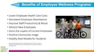 Wellness Wednesday Webinar Series: Energize Employee Wellness in Your School