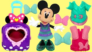 Nat And Essie Play With Minnie Mouse Dress Up N Go Bow-tique