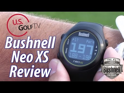Golf Pro Review:  Bushnell Neo XS GPS Rangefinder Watch