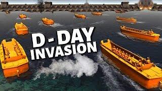 ORANGE D-DAY INVASION ! - Army Men Ocean Fort Siege (A.M.O.W)