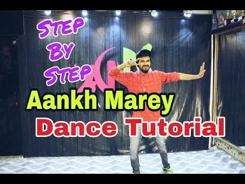 Aankh Marey Tutorial Dance Video Step By Step | pankaj Soni |Bollywood Dance