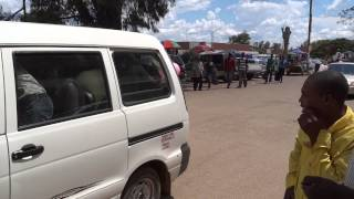 preview picture of video 'Zimbabwe, watching a marriage parade in Chegutu'