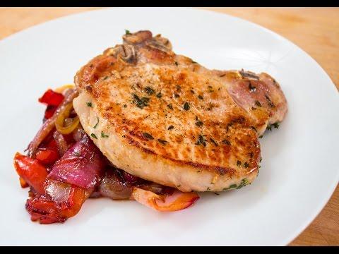 10 Minute Dinner – Sweet & Sour Pork Chops