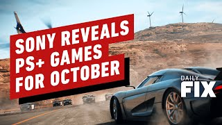 PlayStation Plus Free Games for October Revealed - IGN Daily Fix