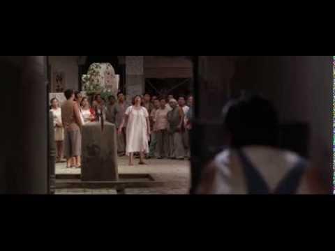 Kung Fu Hustle - Knife Throwing Scene - English dub