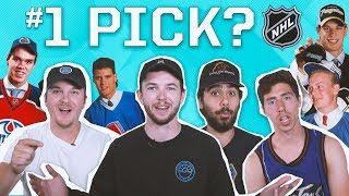 CAN YOU NAME EVERY 1ST OVERALL NHL DRAFT PICK?
