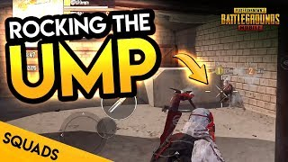 RIPPING SQUADS UP WITH THE UMP - PUBG Mobile