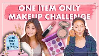 ONE ITEM ONLY Makeup Challenge!
