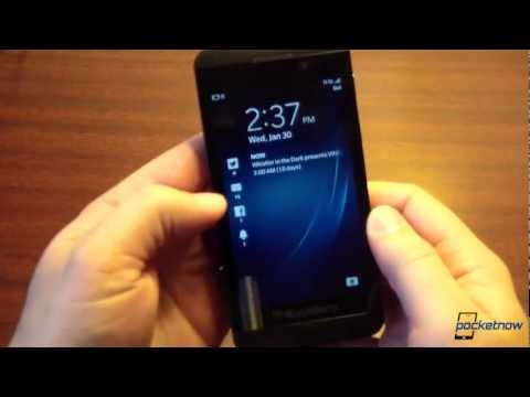 Blackberry Z10 First Impressions