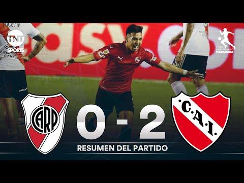Con doblete de Velasco, Independiente le ganó a River y lo dejó sin final