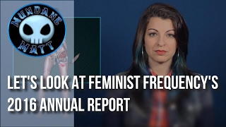 [Gaming] Let's look at Feminist Frequency's 2016 Annual Report