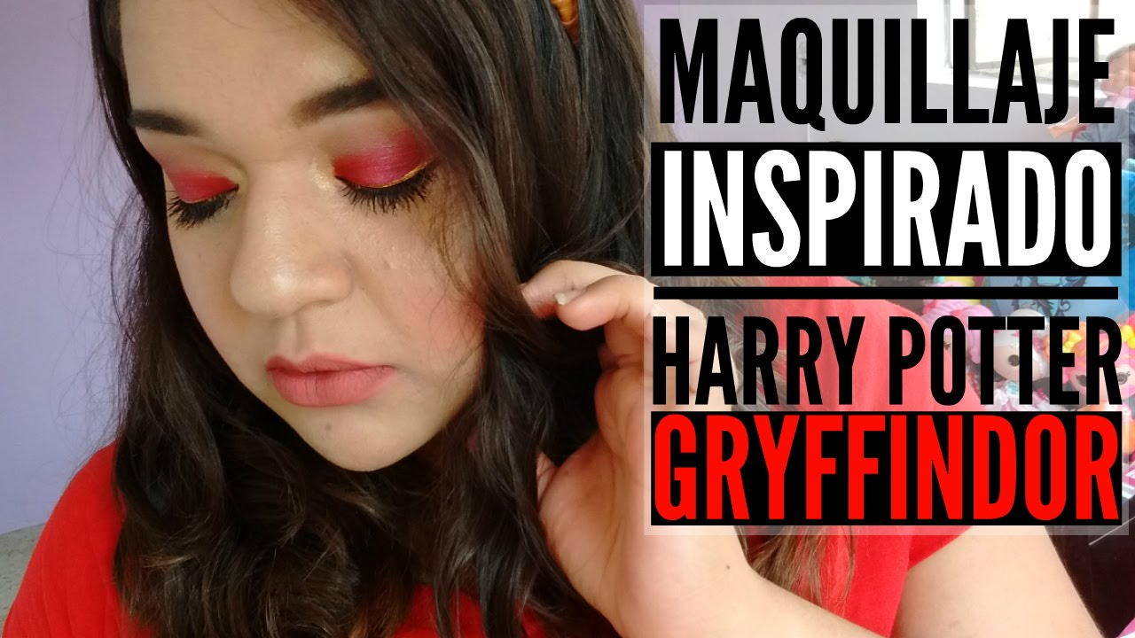 Demelza Makeup - Gryffindor - Maquillaje Inspirado