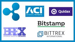 ACI Ripple - Wall Street Buying XRP - Quidax xRapid - BREX Ripple - Bistamp NXMH - Bittrex Int