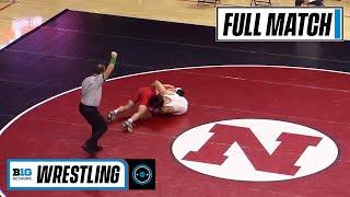 165 LBS: #25 Jonathan Spadafora (Maryland) vs. #4 Mikey Labriola (Nebraska)   2021 Big Ten Wrestling