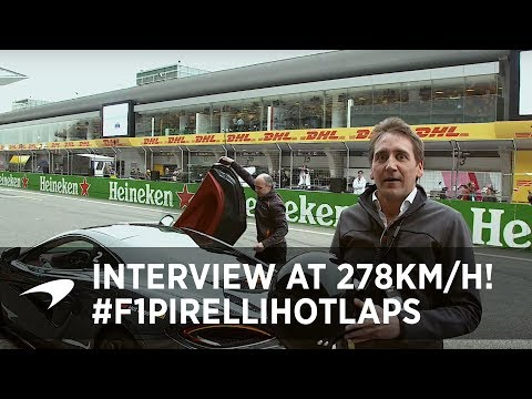 Hot Laps in China | Tom Clarkson Interviews At Speed!