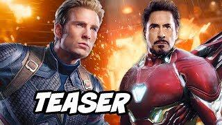 Avengers 4 Captain America Chris Evans Teaser Explained