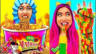 Weird Fun Hilarious Food Hacks You Should Try!!!