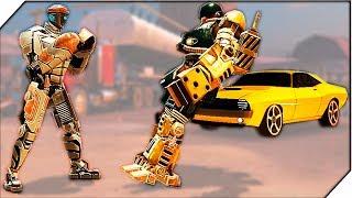 Atom ПОБЕДИЛ 24 РОБОТА (Часть 1) - Игра Real Steel World Robot Boxing # 7 Игра живая сталь