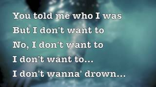 """Drown"" by Chasen (Lyrics on the Screen)"