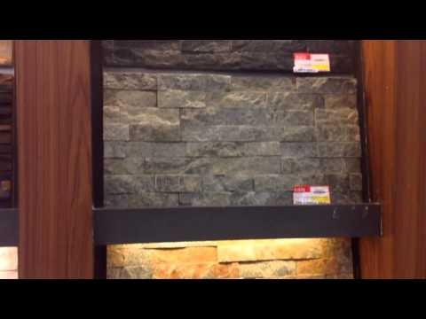 วัสดุหินกาบนาโน เพื่อใช้ในการทำม่านน้ำสำเร็จรูป