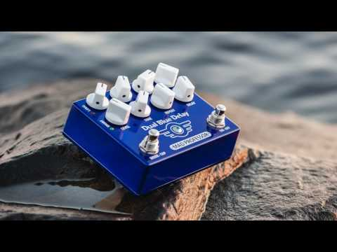 MAD PROFESSOR Dual Blue Delay Kytarový efekt