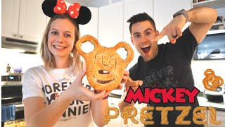 Official Mickey Pretzel Recipe / QUICK & EASY Homemade Disney Recipe