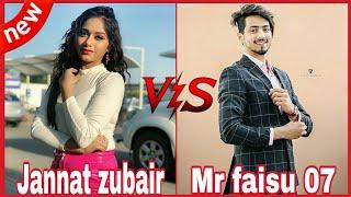 Tik Tok Musically_Mr Faisu Duet with Jannat zubair | Mr faisu & Jannat zubair compilation video 2019