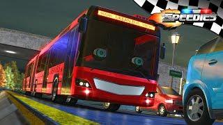 Wheels On The Bus   Speedies Cartoons   Rhymes for Kids