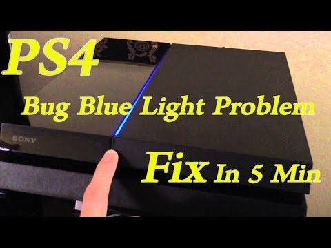 PS4 Blinking Blue Light explained and fixed! - смотреть