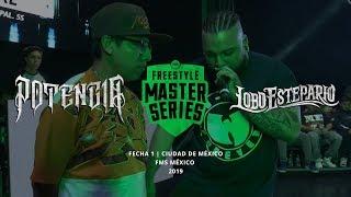 LOBO ESTEPARIO VS POTENCIA FMS MÉXICO JORNADA 1 OFICIAL - Temporada 2019.