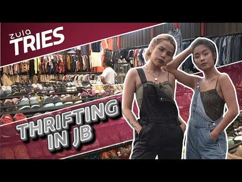 Thrift Shopping in JB + GIVEAWAY! | ZULA Tries | EP 24