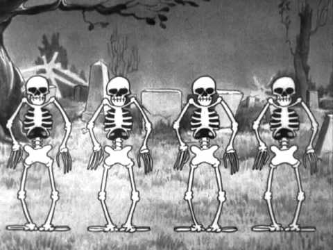 Silly Symphonies - The Skeleton Dance видео